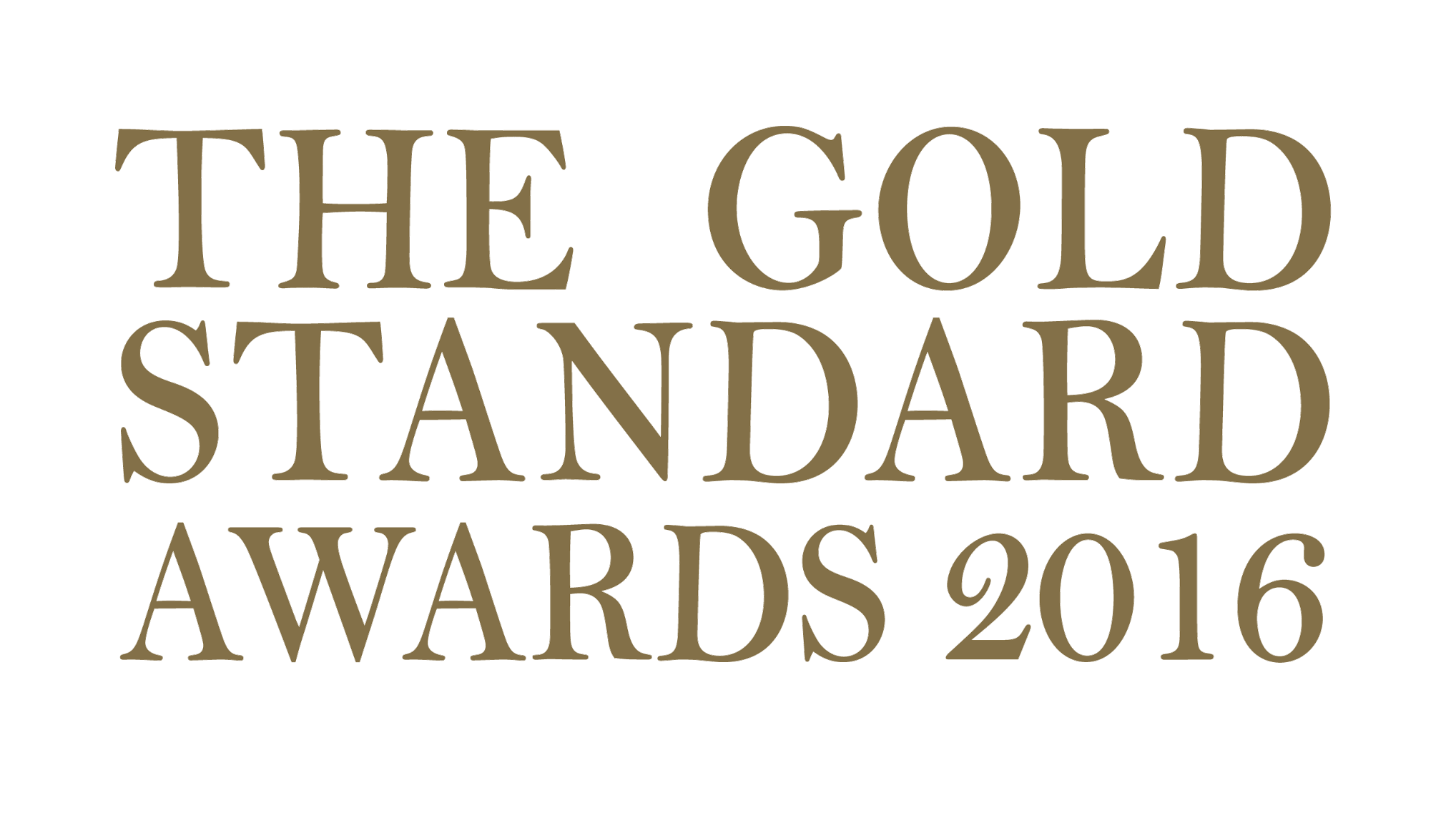 THE GOLD STANDARD AWARDS 2017